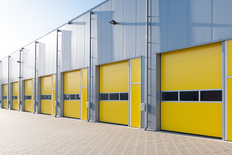 Commercial Overhead Sectional Doors Supply and Install